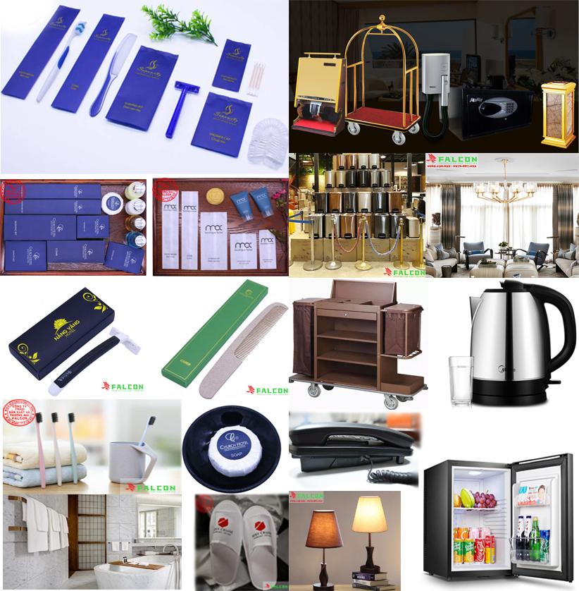 Cung cấp và sản xuất bộ sản phẩm đồ dùng vật tư khách sạn